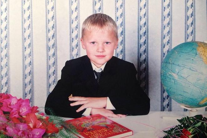 Кирилл Капризов в детстве