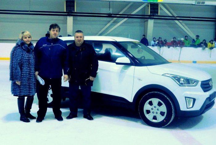 Капризов подарил машину тренеру