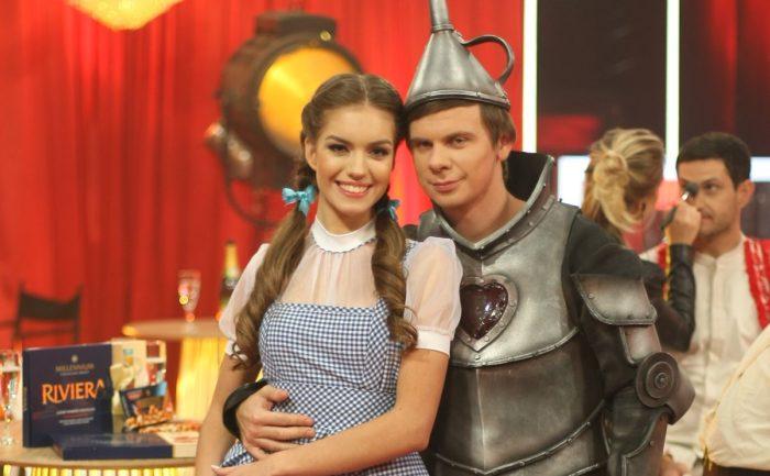 Дмитрий Комаров и танцы