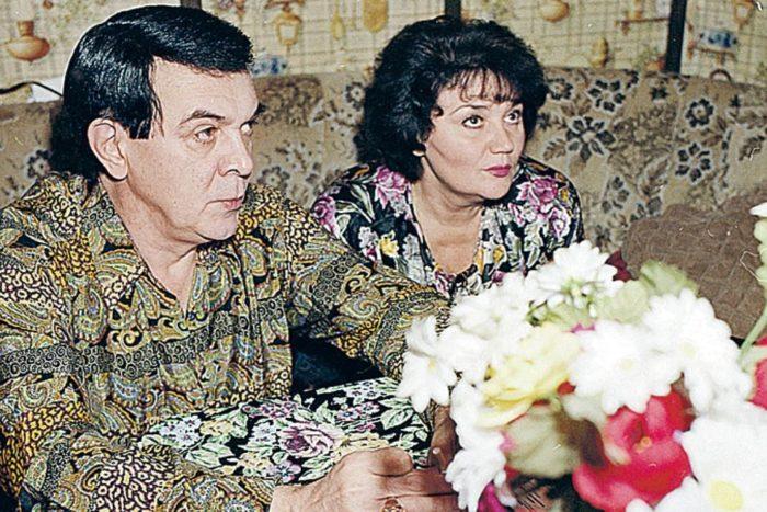Тамара Синявская и муж