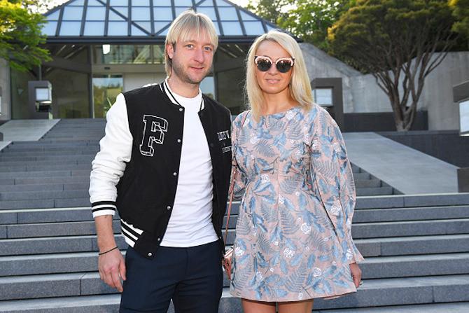 Яна Рудковская  и муж