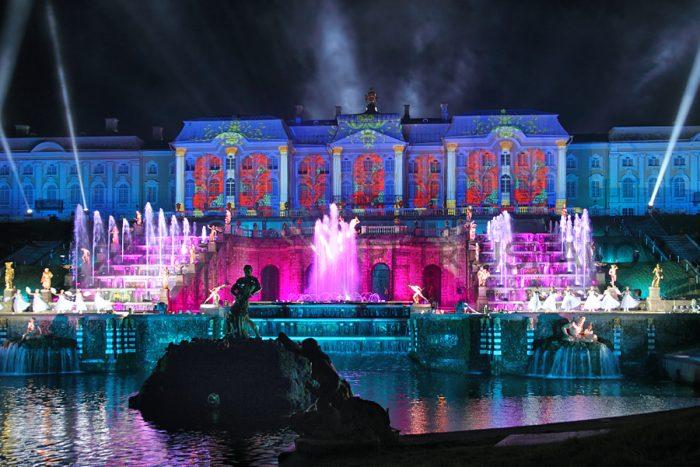 фонтаны в Петергофе