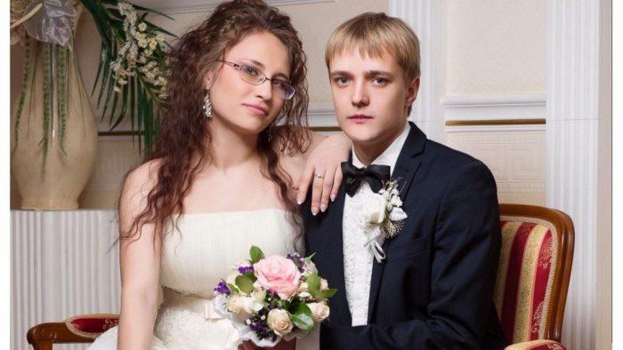 Сергей Зверев с женой