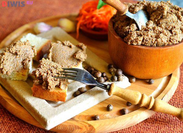 Паштет из печени на собственной кухне — вкусный и полезный продукт на завтрак