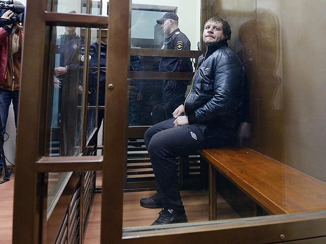 Александр Емельяненко на заседании суда