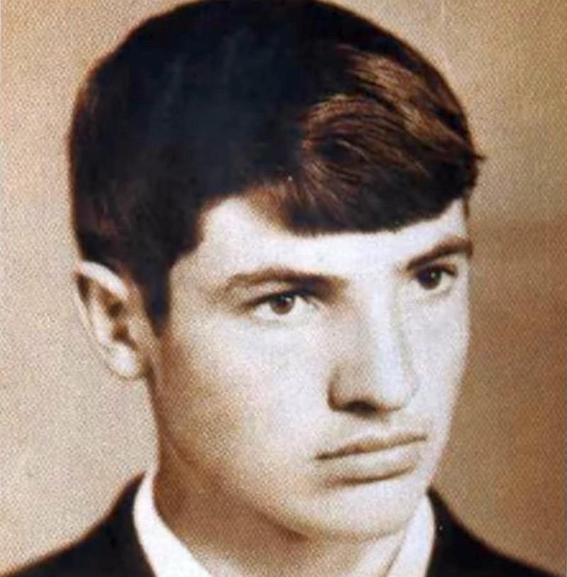 Александр Лукашенко в детстве
