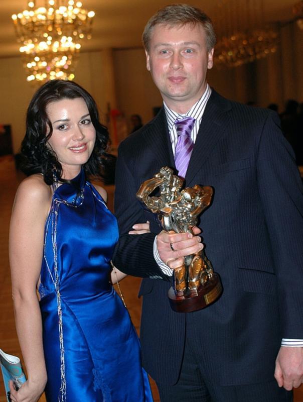 Анастасия Заворотнюк и Дмитрий Стрюков