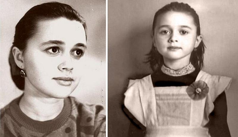 Анастасия Заворотнюк в школьные годы