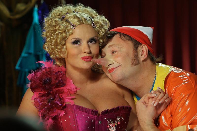 Анна Семенович в мюзикле 'Золотой ключик'