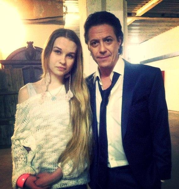 Борис Хвошнянский с дочерью Соней