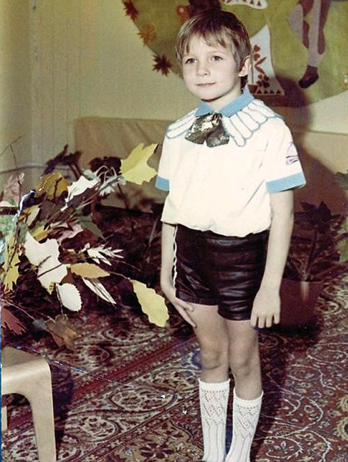Борис Корчевников в детстве