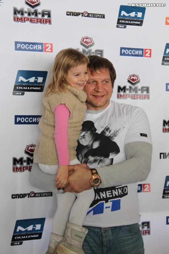 Дочь Александра Емельяненко — Полина Емельяненко