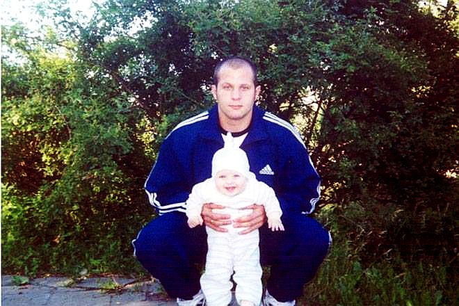 Федор Емельяненко с дочерью Марией
