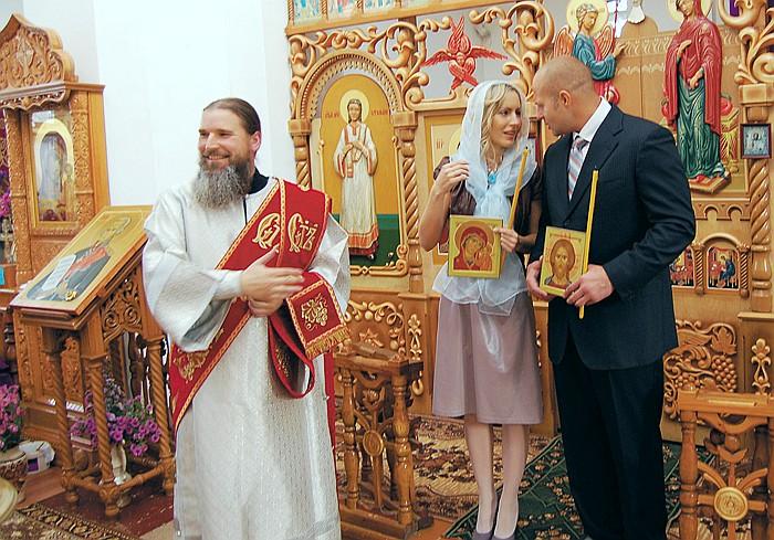 Федор Емельяненко венчание