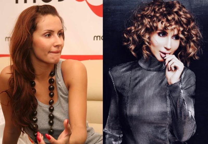 Фото певицы Светланы Лободы до и после пластики