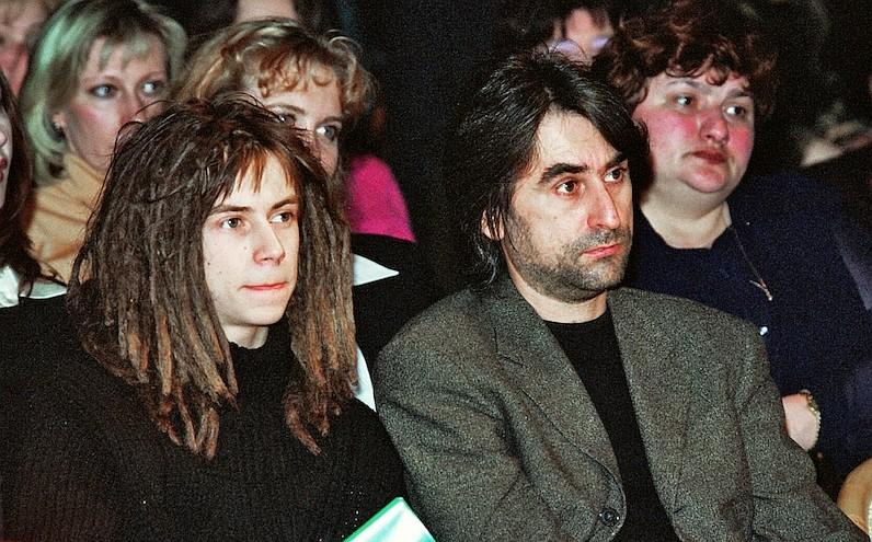 Кирилл Толмацкий (Децл) с отцом