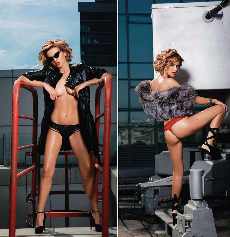 Ксения Бородина фото для журнала Playboy
