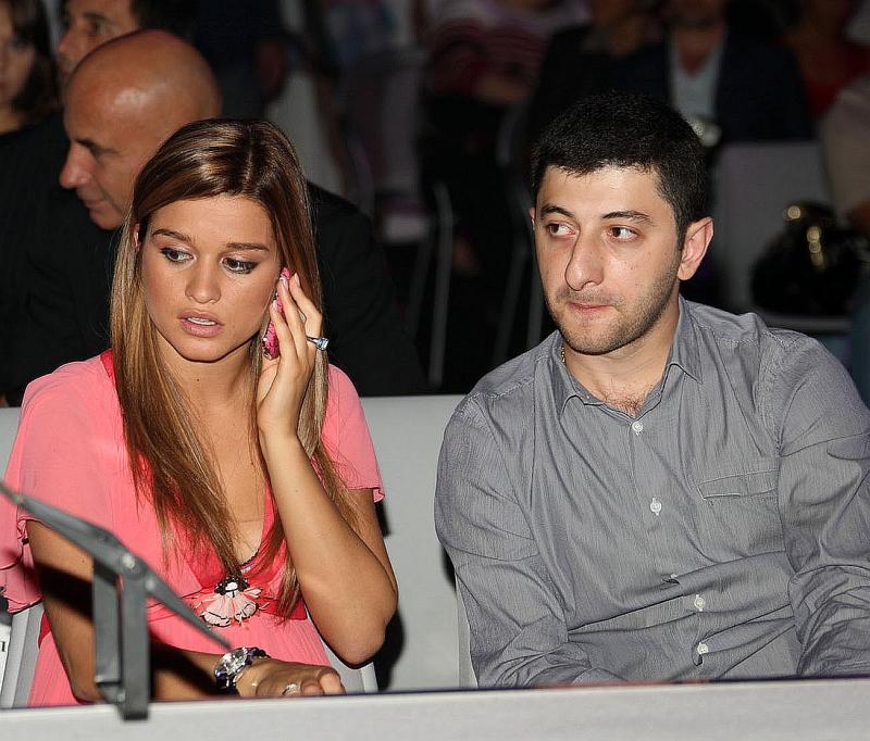 Ксения Бородина и Юрий Будагов