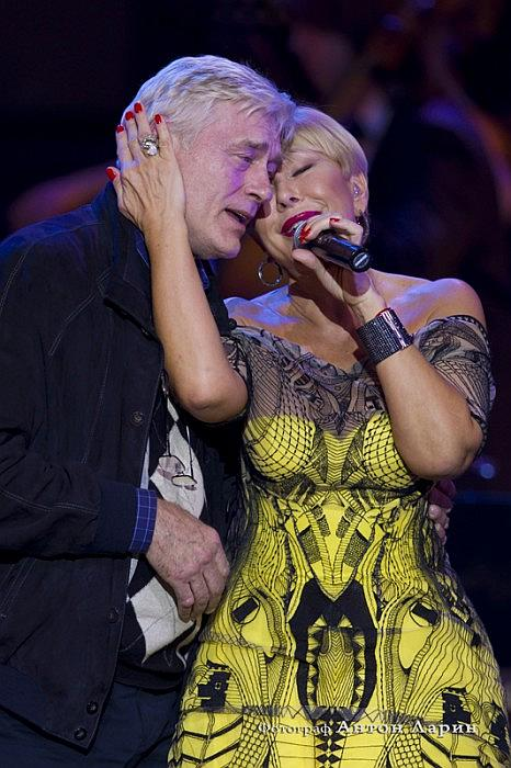 Любовь Успенская и Борис Щербаков