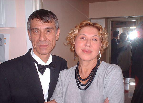 Любовь Успенская и Владимир Франц
