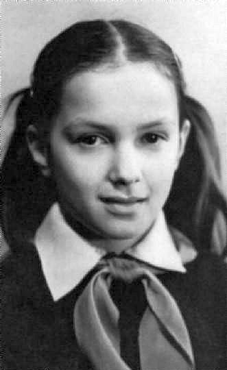 Мария Порошина в детстве