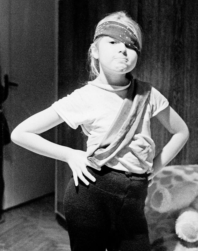 Мария Шукшина в детстве