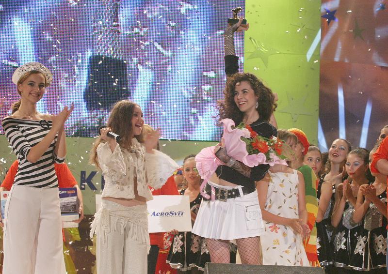 Настя Каменских на 'Черноморских играх 2004'