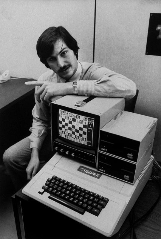 Первый компьютер Стива Джобса