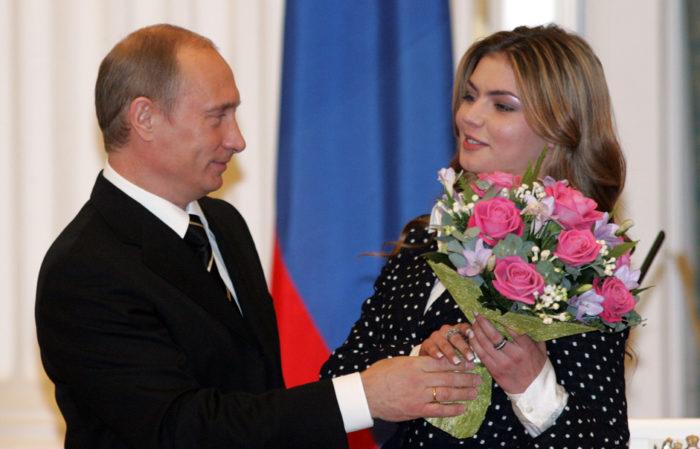 Роман с президентом — Алина Кабаева