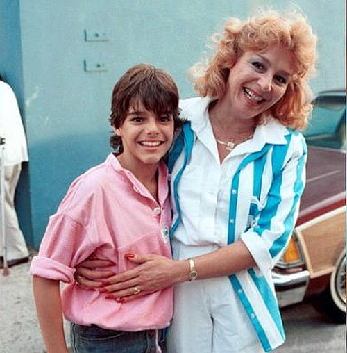 Рики Мартин с мамой