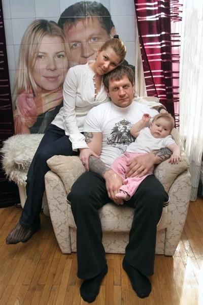 Семья и дети Александра Емельяненко
