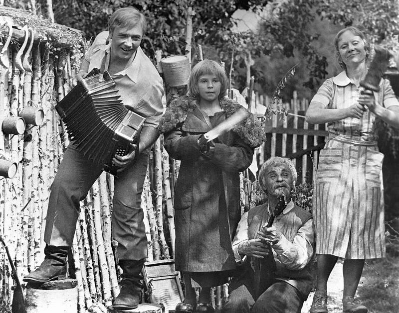 Семья и дети Леонида Куравлева