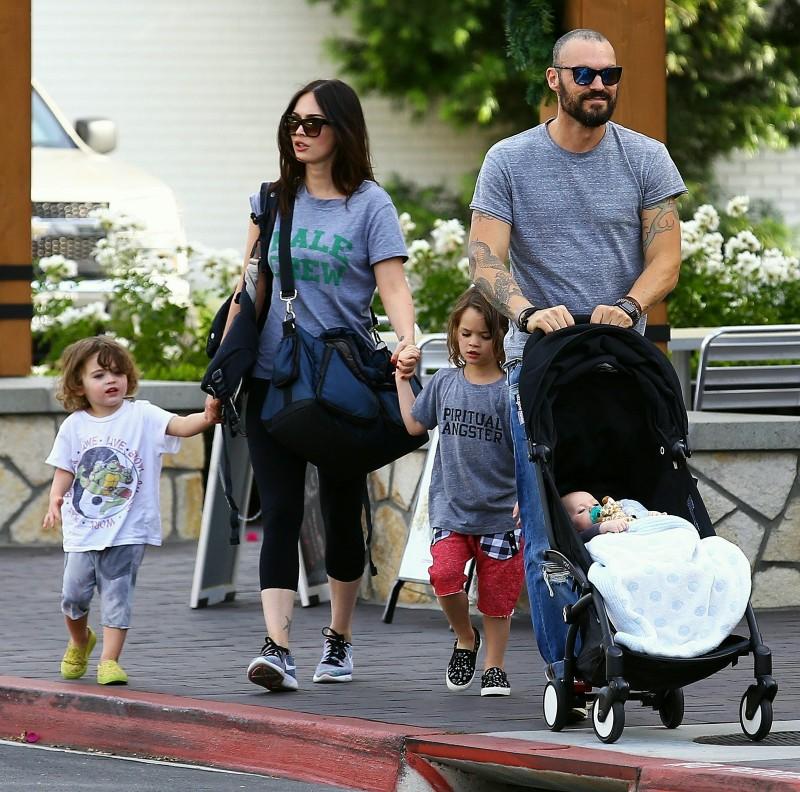 Семья и дети Меган Фокс