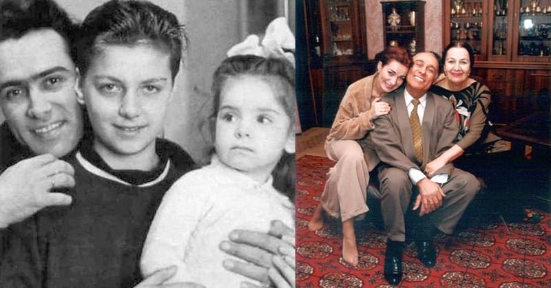 Семья и дети Николая Сличенко