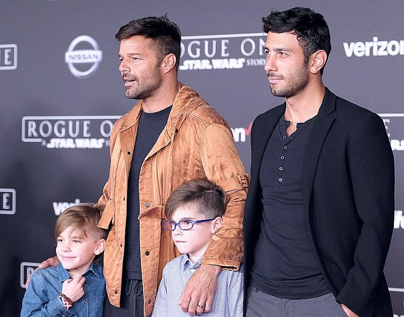 Семья и дети Рики Мартина