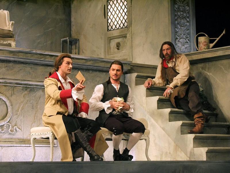 Сергей Лазарев в спектакле 'Женитьба Фигаро'