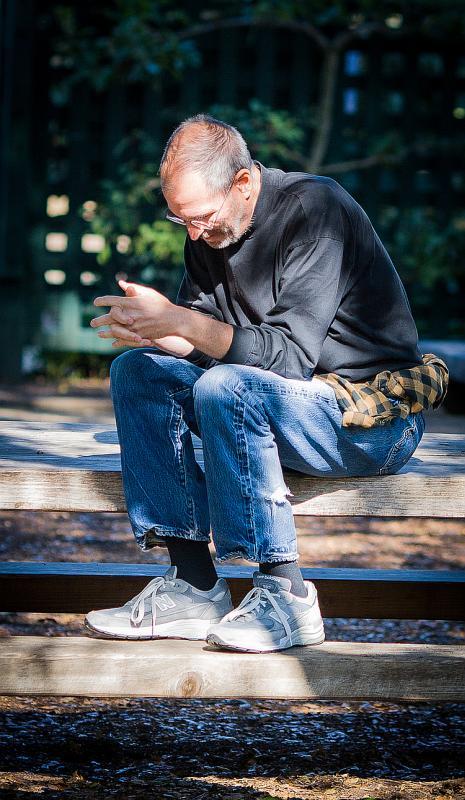Стив Джобс незадолго до своей смерти