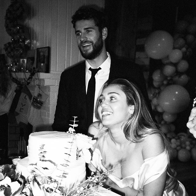 Свадьба Лиама Хемсворта и Майли Сайрус