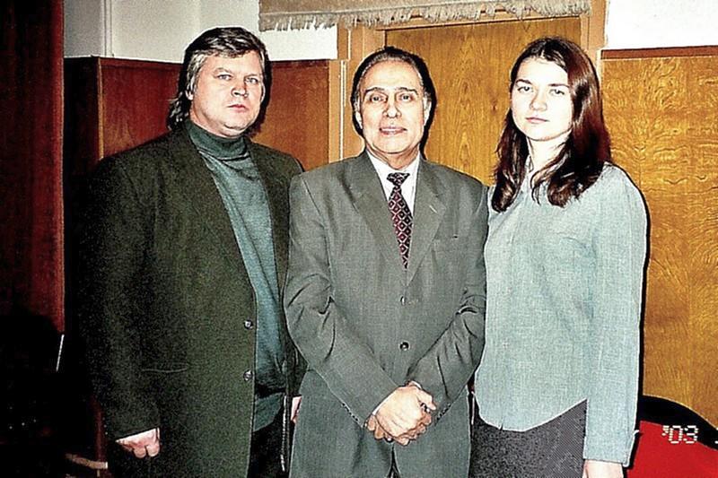 Сын Николая Сличенко – Алексей