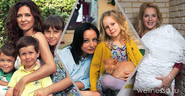 ТОП-10: многодетные мамы российского шоу-бизнеса