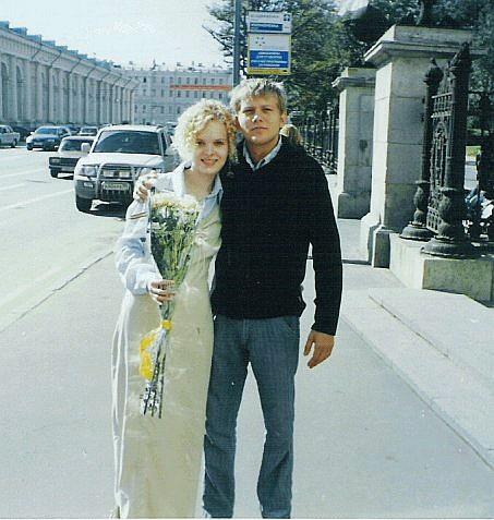 Жена Бориса Корчевникова и его фото со свадьбы 2