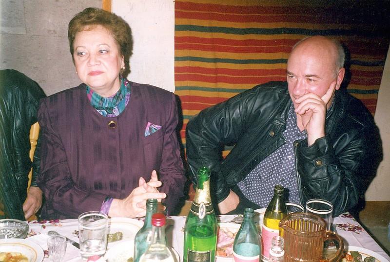 Жена Леонида Куравлева – Нина Куравлева