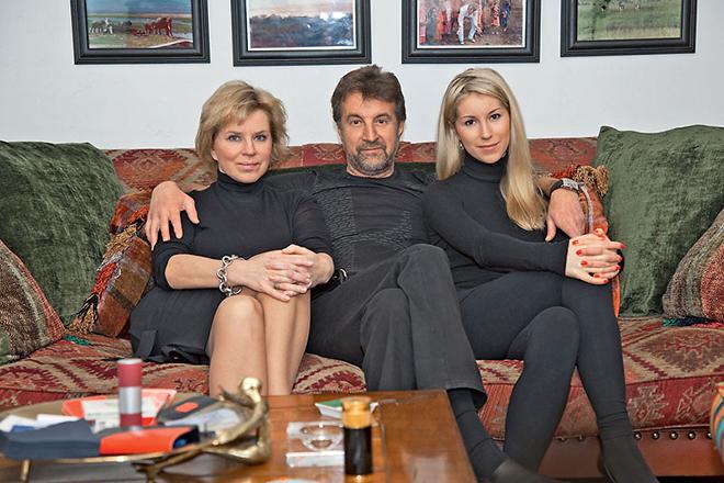 Жена Леонида Ярмольника – фото, биография, личная жизнь, семья