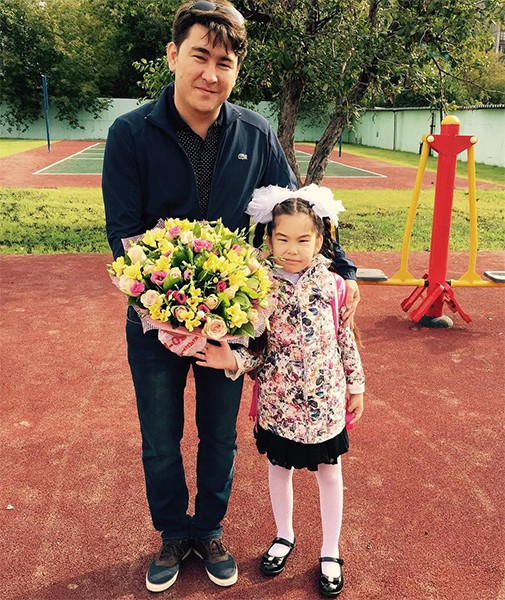 Жена Азамата Мусагалиева – фото, биография, дети