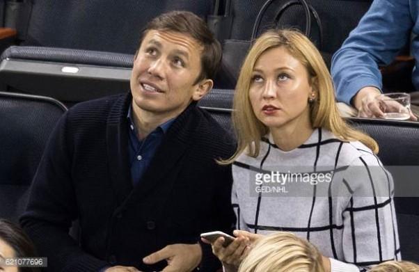 Жена Геннадия Головкина – фото, биография, семья