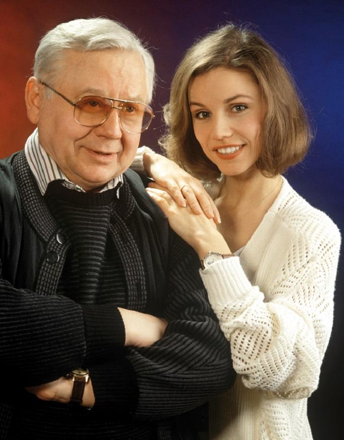 Жена Олега Табакова – фото, дети, биография, личная жизнь