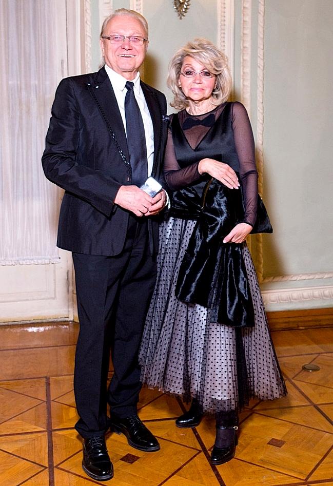 Юрий Маликов, жена