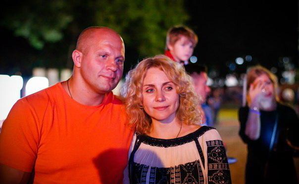 Жена Федора Емельяненко – фото, личная жизнь, семья, дети