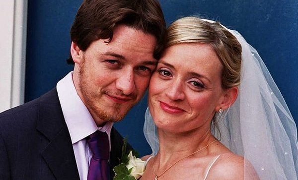 Жена Джеймса Макэвоя – фото, личная жизнь