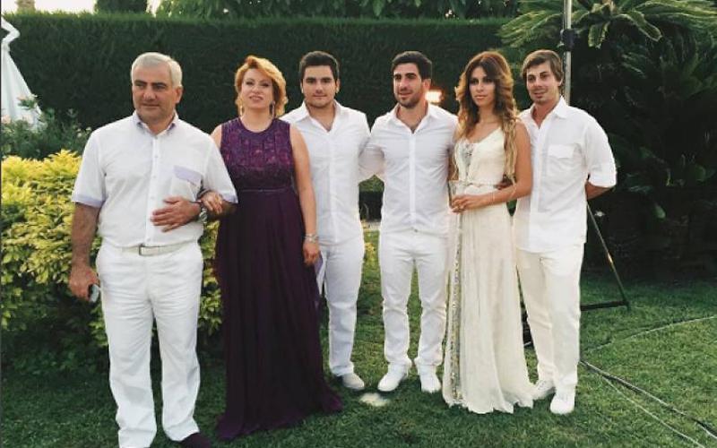 Самвел Карапетян и его жена – фото, дети, биография